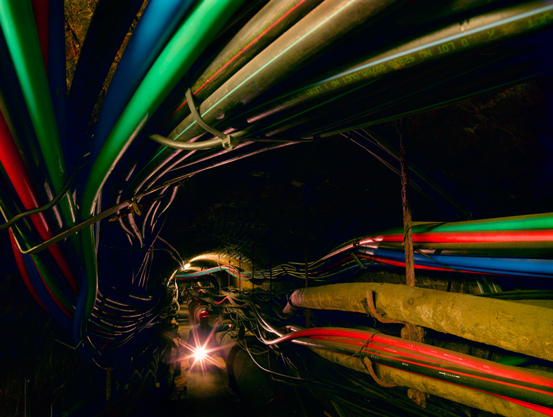 Fibre Optic Tunnel, City of London