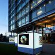 British Land Illuminated Cubes at Broadgate, Regents Place and Paddington Basin 2017